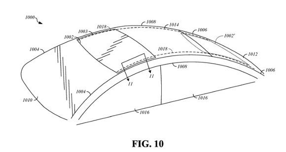 Appleは、自動運転車プロジェクト「Titan」の研究の一環として、安全性向上を図った座席システムや、独自デザインのサンルーフの開発を行っていることが明らかになりました。 独自デザインのサンルーフ  現地時間の28日、新たに2つの特許がAppleに付与された模様です。   1つ目の特許は、「非直線的なレールを持つ可動式パネル(Movable panels with nonlinear tracks)」と名付けられたもので、複数のレールでパネルをスライドさせるサンルーフの新デザインとなっています。