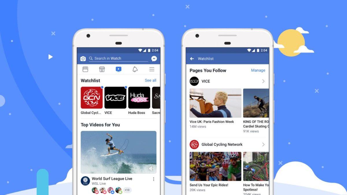 Facebook、動画配信サービス「Watch」を日本を含む世界各国で提供開始