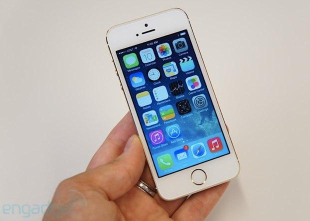 ▲往年の「iPhone 5s」