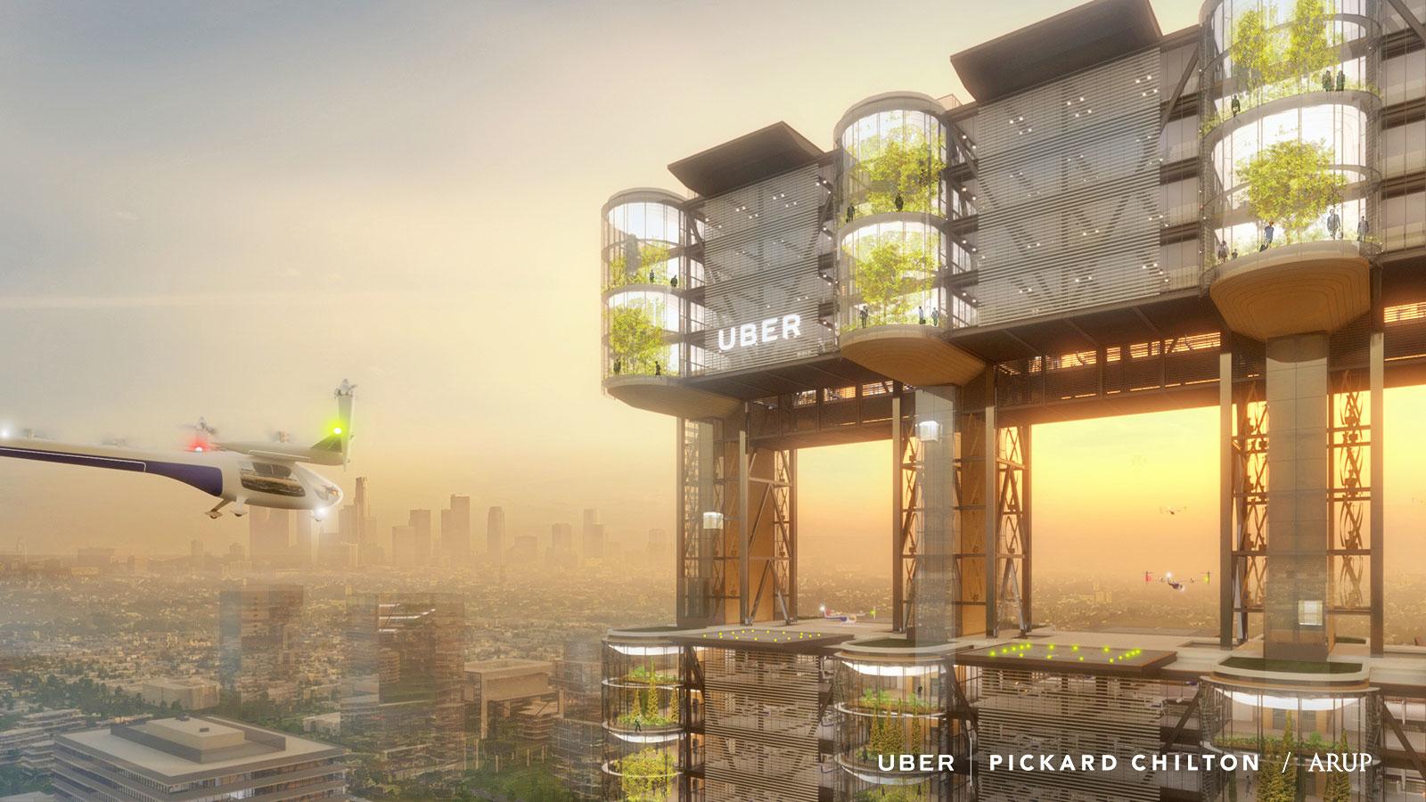 空飛ぶタクシーUberAirは東京を含む5都市を第3の実験都市候補に