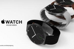 円形ディスプレイが採用された「Apple Watch」のコンセプトが登場