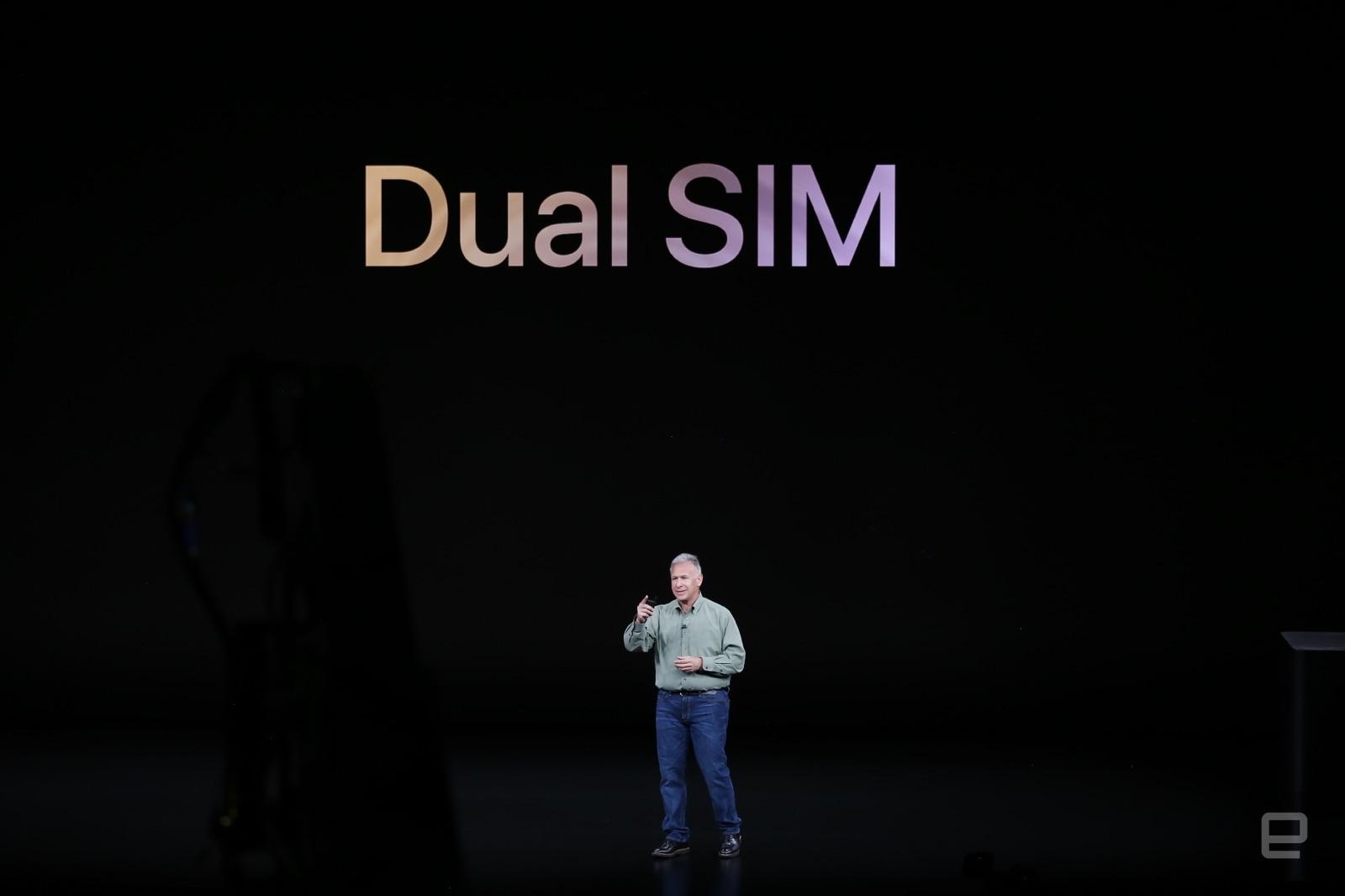 新iPhoneはnano SIMとeSIMのDSDS対応。中国モデルのみnano SIM x2に