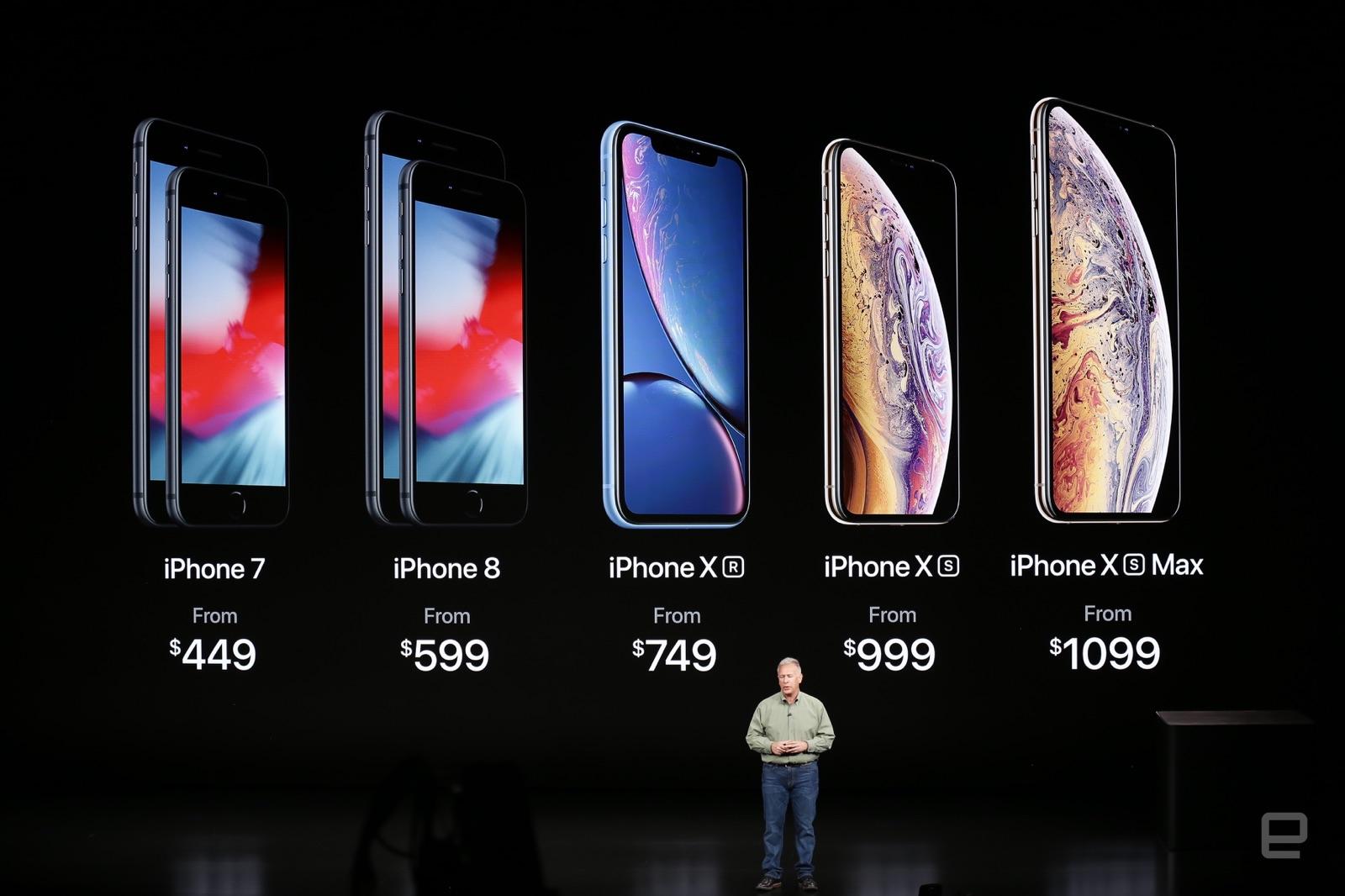 iPhone Xは販売終了、6s・SEも同様。iPhone 7と8は値下げで併売