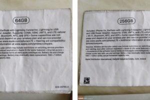 新型「iPhone」の名称はやはり「iPhone Xs」に?? ー ラベルシールの写真が流出か