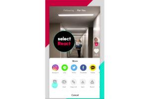 ショート動画アプリ「TikTok」に動画リアクション機能。自分の反応動画を上乗せしてシェア可能に
