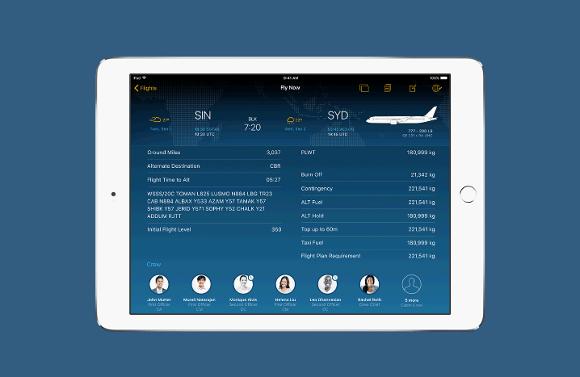 シンガポール航空、パイロットのフライト情報管理にiPadを導入
