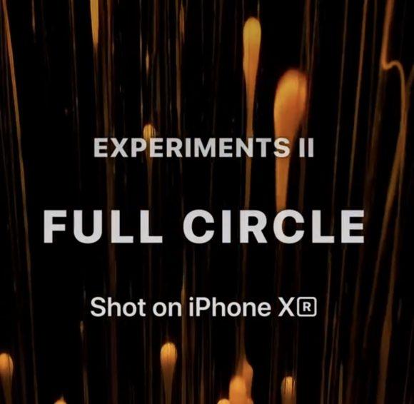 Appleの新作CM「Full Circle」は32台のiPhone XRで撮影