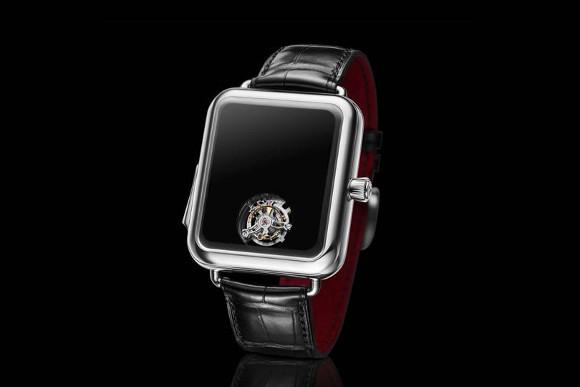 スイスの時計メーカー、Apple Watchにそっくりな機械式腕時計を発表