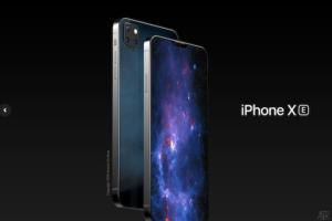 iPhone SEの進化版?「iPhone XE」のコンセプトデザインが登場