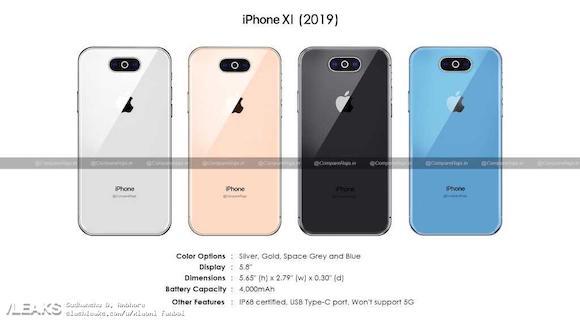 今秋の「iPhone XI」?スペックがリークサイトに掲載、USB-C端子採用か