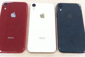 6.1インチLCD版iPhoneに青、赤、白のカラバリ?モックアップと称するリーク写真が投稿